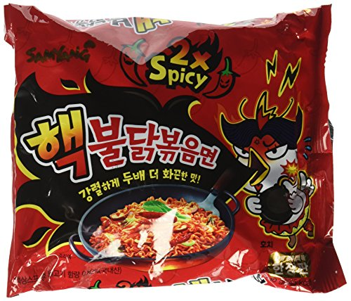 Samyang HACK Buldak Bokeum Ramen 1PCS HOT Spicy Fire Noodle New spiciest