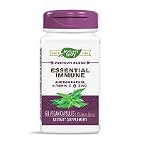 Nature's Way Essential Immune Capsules, 360.5 mg, 60 Count