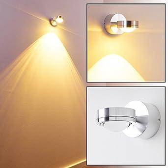 LED Wandleuchte Indore Down Mit Tollen Lichteffekten   Wandspot Für Das  Wohnzimmer   LED Wandstrahler Aus
