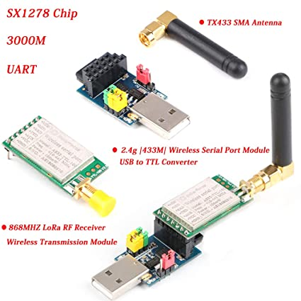 Amazon com: MakerFocus RF Wireless Transmission Module
