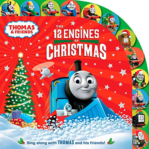 The 12 Engines of Christmas (Thomas & Friends) (The Songs Thomas Christmas Train)