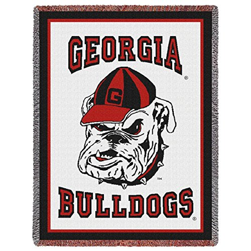 georgia bulldogs couch throw - 9