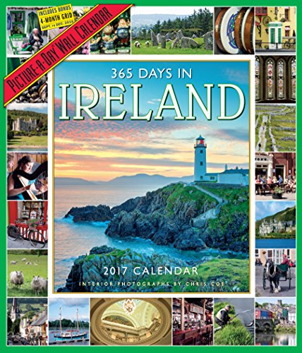 365 Days in Ireland Picture-A-Day Wall Calendar 2017 cover