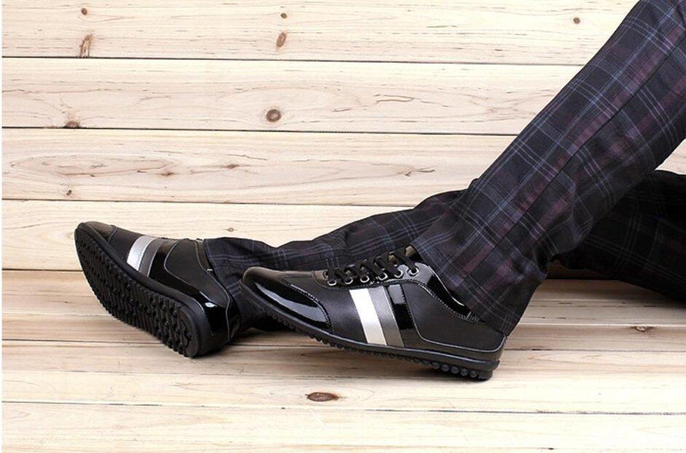 XUE Herrenschuhe Leder Frühling Herbst Turnschuhe Deck Schuhe Wanderschuhe Outdoor Outdoor Outdoor Wanderschuhe Sportschuhe Casual Travel (Farbe   EIN Größe   41) ec01eb