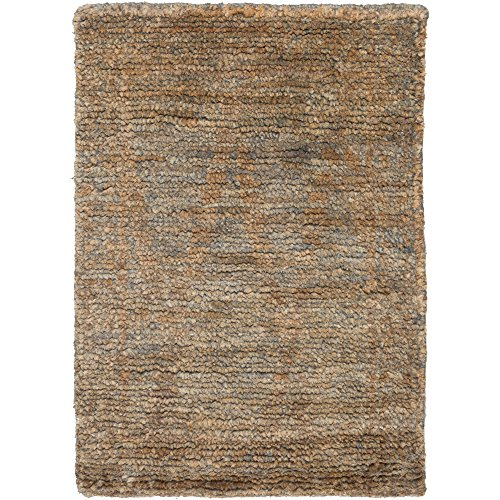 Surya SCR5138-23 Scarborough Area Rug, 2' x 3', Charcoal/Mocha