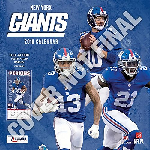 New York Giants 2019 Calendar ()