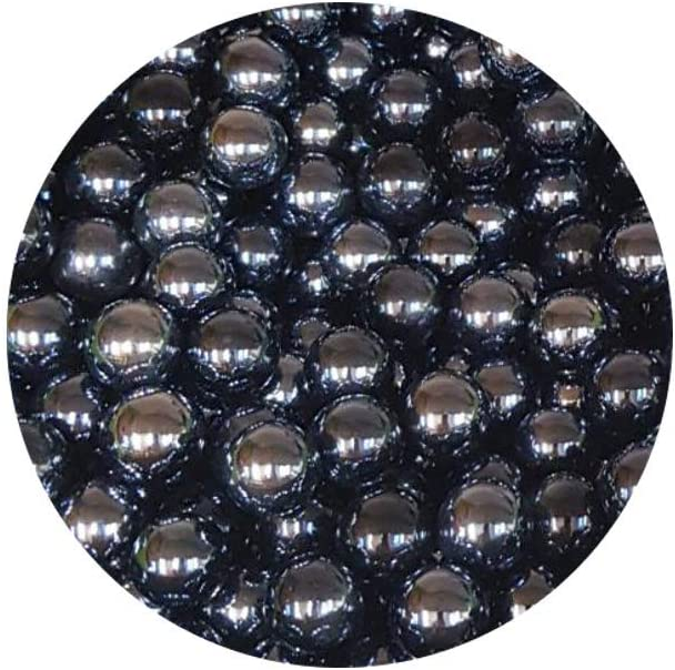 30 Canicas de Vidrio Nero Lucido mesbilles MisCanicas Marmoles de Vidrio 14 mm de Mis Canicas