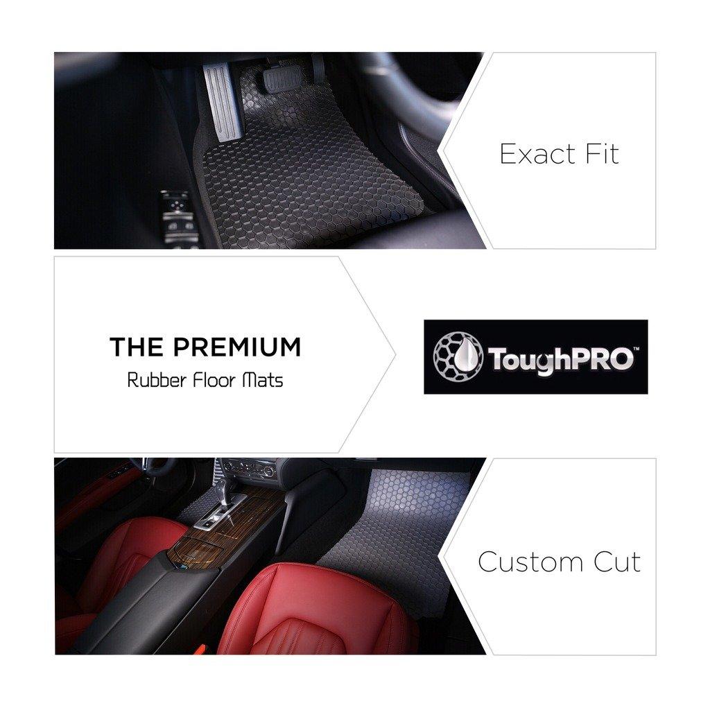 Rubber floor mats gmc acadia - Amazon Com Toughpro Gmc Acadia Floor Mats Set All Weather Heavy Duty Black Rubber 2017 Automotive