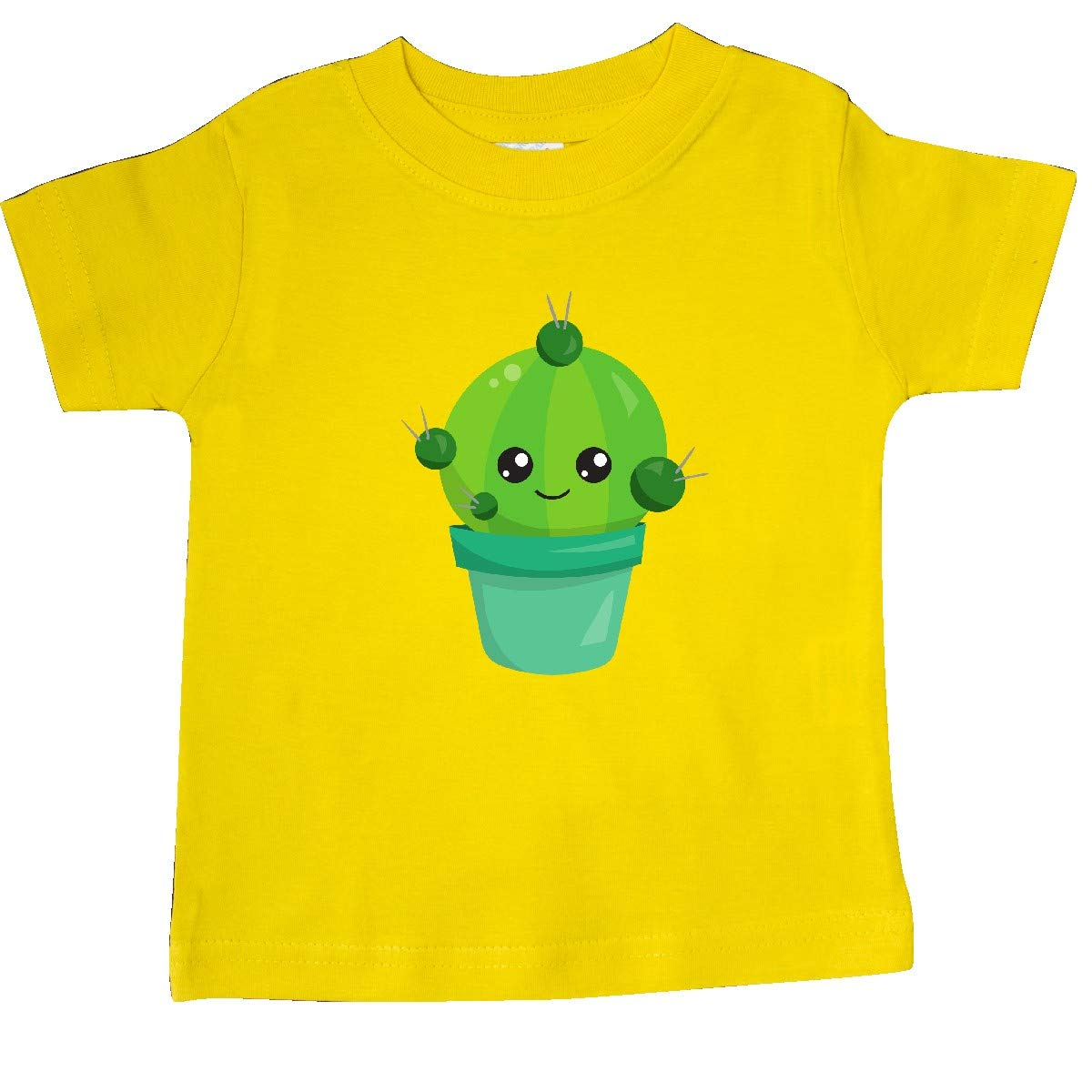 Smiling Cactus Baby T-Shirt inktastic Little Green Cactus in a Pot