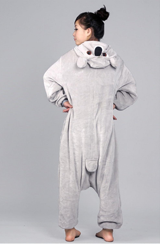 Autek disfraz Koala unisex pijama de una pieza para dormir de animales. Disfraces originales: Amazon.es: Juguetes y juegos