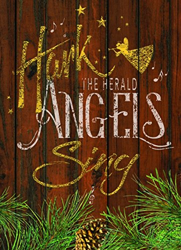 (Performing Arts Embossed Foil Rustic Angel on Wood Stationery Paper, 51124-14)