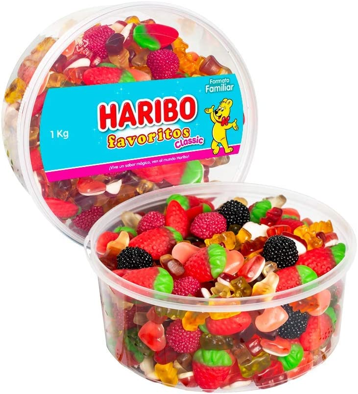 Haribo Favoritos Classic, Golosina - 1000 gr.