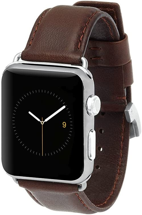 Case Mate Apple Watch 42mm Signature Leather Watchband - Tobacco