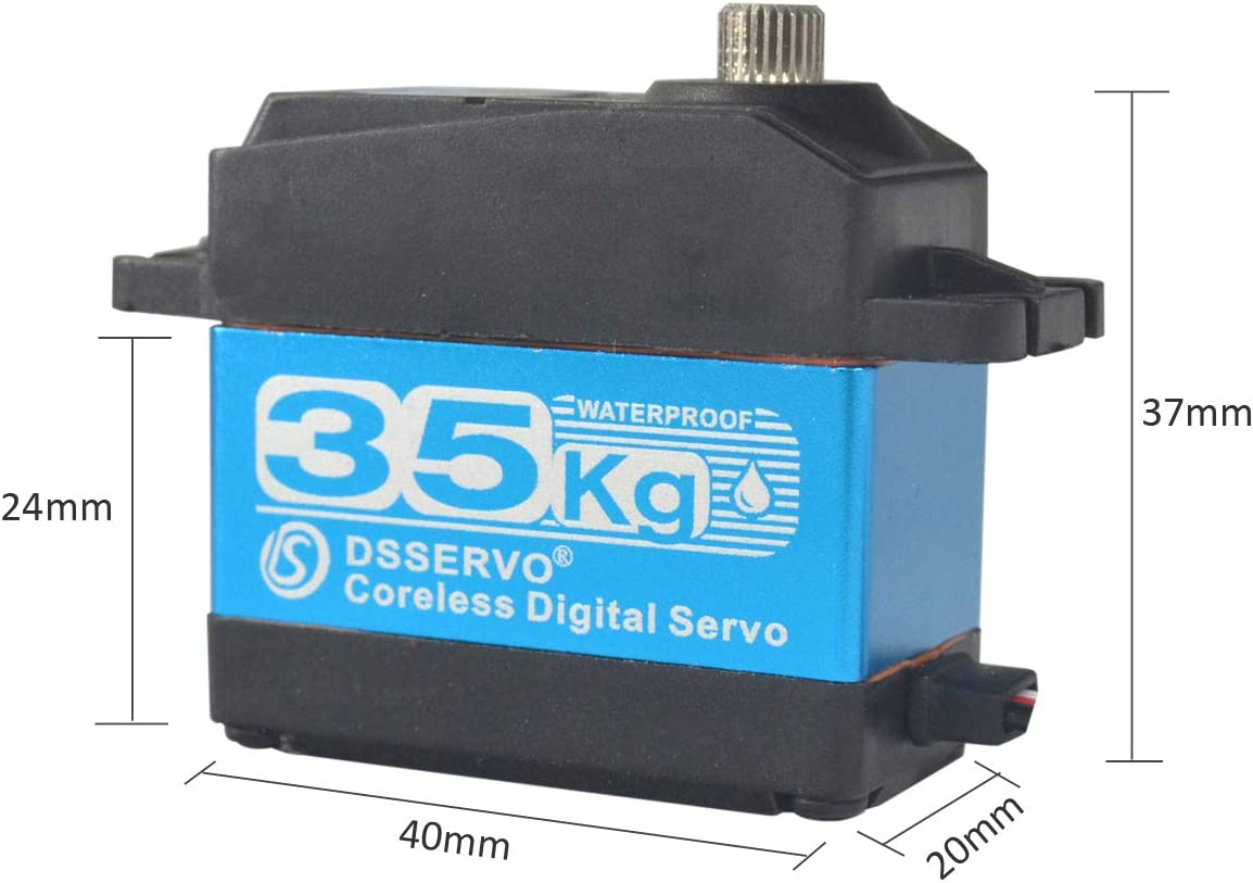 DS3235SG 180°//270° 35kg Digital Metall Getriebe Servo Lenkservo Coreless RC
