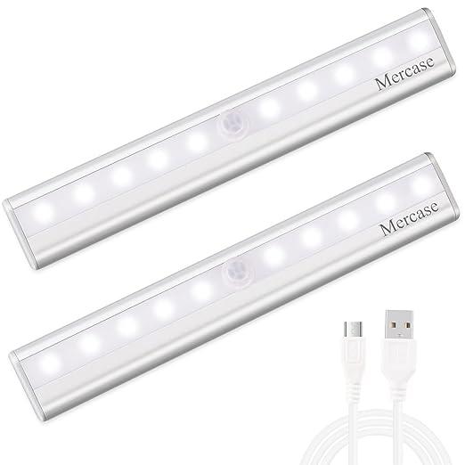 Luce Notte Led con Sensore,Ricaricabile Usb Luce LED Sensore di ...