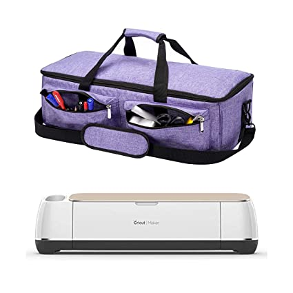 bad592585092 ARSH Carrying Bag Compatible with Cricut Maker, Tote Bag Compatible with  Cricut Explore Air 2, Supplies and Accessories (Purple Color)
