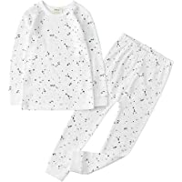 Owlivia 100% Organic Cotton Baby Long Sleeve Pajama Sets,Toddler Boy Girl 2-Piece Sleepwear