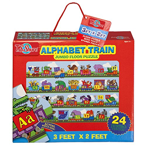 T.S. Shure - Alphabet Train Jumbo Floor Puzzle