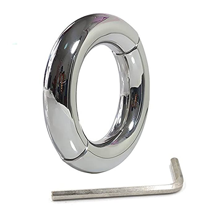 Stainless Steel Hinged Ball Stretcher Weights Delayed Ejaculation ...