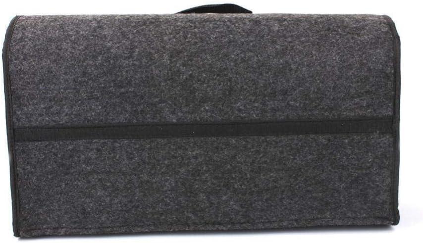 Anzinia Gro/ße Graue rutschfeste Kofferraum Kofferraum Aufbewahrungsbox Aufbewahrungstasche Werkzeugtasche