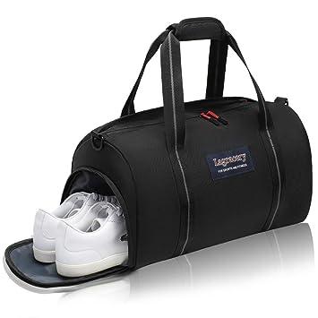 La Gracery - Bolsa de Deporte con Compartimento para Zapatos ...
