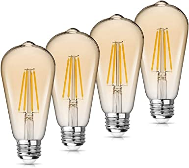 Home Styling Collection Amber LED Light Bulb