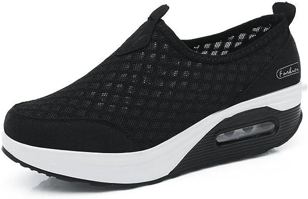 Femmes Minceur Taille 35 42eu Chaussures Marche Baskets