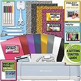 Cricut Explore Air 2 Blue Machine Bundle Iron On Vinyl Pack Tools Pen Design Guide