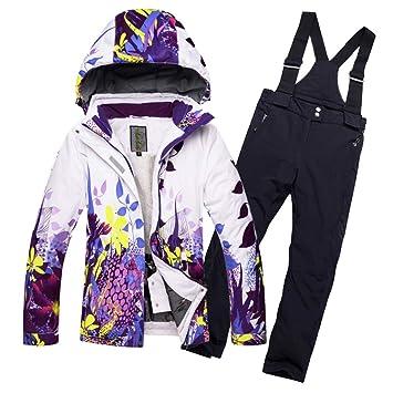 ZXGJHXF Juego de esquí para niños Traje de esquí niños y ...