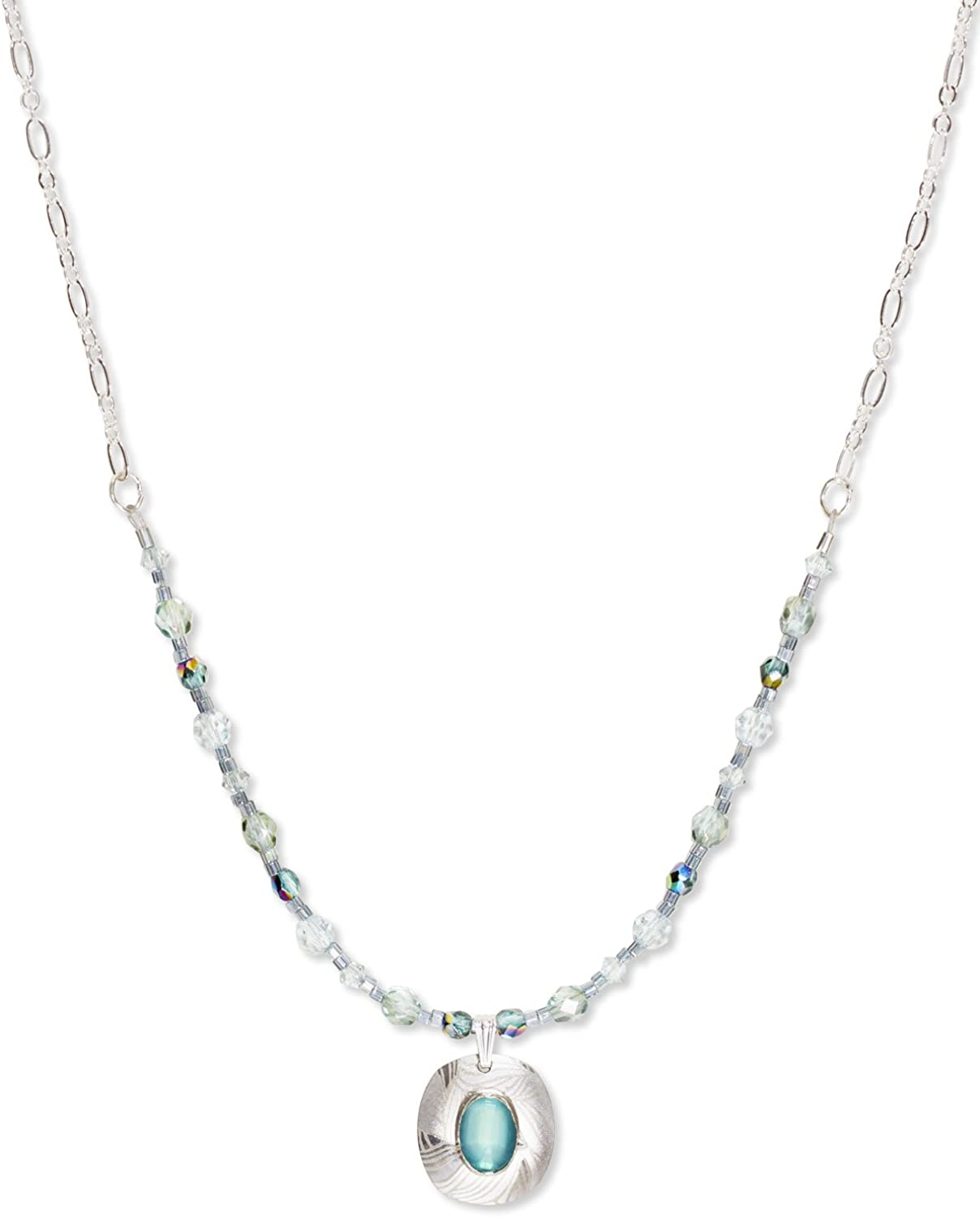 Remarquable Amazon.com: Holly Yashi Synergy Beaded Necklace, Hypoallergenic QL-36