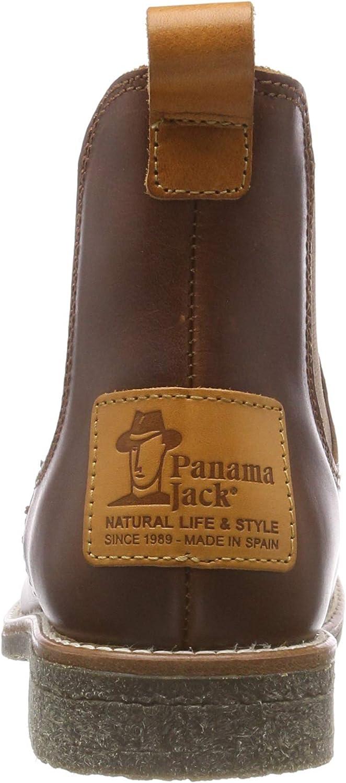 Panama Jack Giordana Travelling, Botines para Mujer Marrón Bark B1 bPhOI