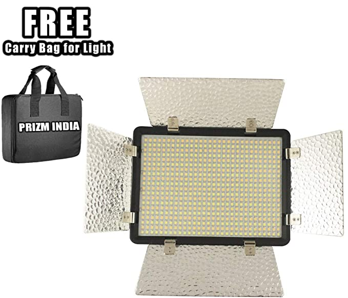 Aorna Simpex 600 Professional Bright Dual LED 600 Video Light  Warm White  Photo Studio   Lighting