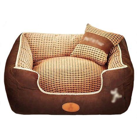 Caseta para Mascotas Casa para Perros pequeños Perro Mediano Perro Grande Lavable Cama para Mascotas Nido