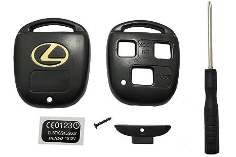 Amazon.com: Horande - Carcasa de repuesto para llave Lexus ...