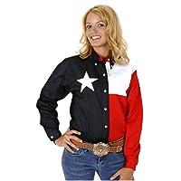 Roper Texas Pieced Flag Shirt