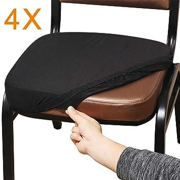 Amazon.com: Aonepro Fundas de asiento para silla, elásticas ...