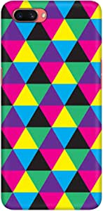 Stylizedd Oppo A3s Slim Snap Basic Case Cover Matte Finish - Hallucinating Trios