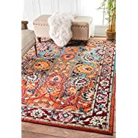 nuLOOM Floral Mallory Rug, 3 x 5, Multicolor
