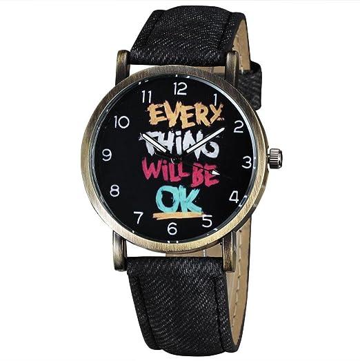 Regalo de la belleza de la moda en 2015 de nuevo diseño de la marca de estilo informal casebomb Womage reloj ...