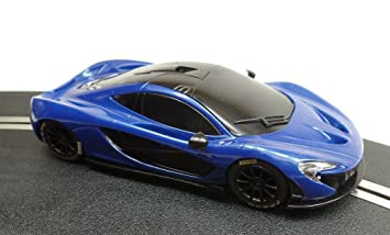 Good Scalextric Hornby Auto 1/32 McLaren P1 Blue Without Light SXC®