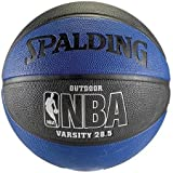 NBA Spalding All Star Basketball Blue and Black 28.5 Intermediate Size