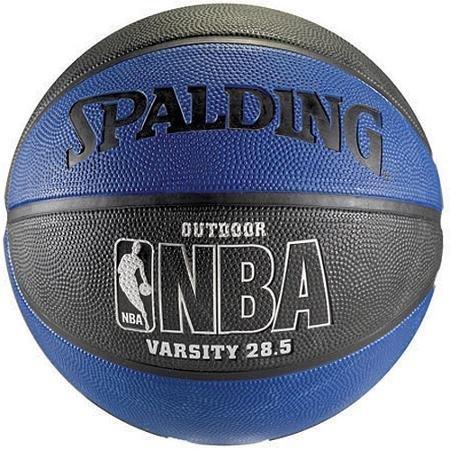 NBA Spalding All Star Basketball Blue and Black 28.5 Intermediate Size
