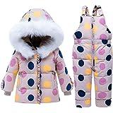 Amazon.com: SANMIO - Traje de nieve de dos piezas para bebé ...