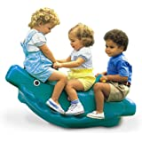 Little Tikes Classic Whale Teeter Totter in Green