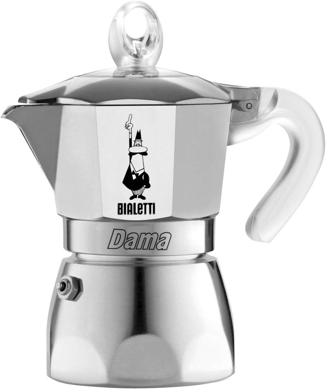Bialetti Dama Vanity 3 Cups transparente Cafetera de 3 tazas ...