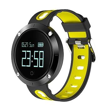 Reloj Inteligente,Btruely Herren DM58 Pulsera con Pantalla Táctil Bluetooth 4.0 con Cámara/Análisis