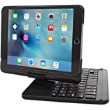 iPad Mini 4 Keyboard, Snugg™ [Black] Wireless Bluetooth Keyboard Case Cover [Lifetime Guarantee] 360° Degree Rotatable Keyboard For Apple iPad Mini 4
