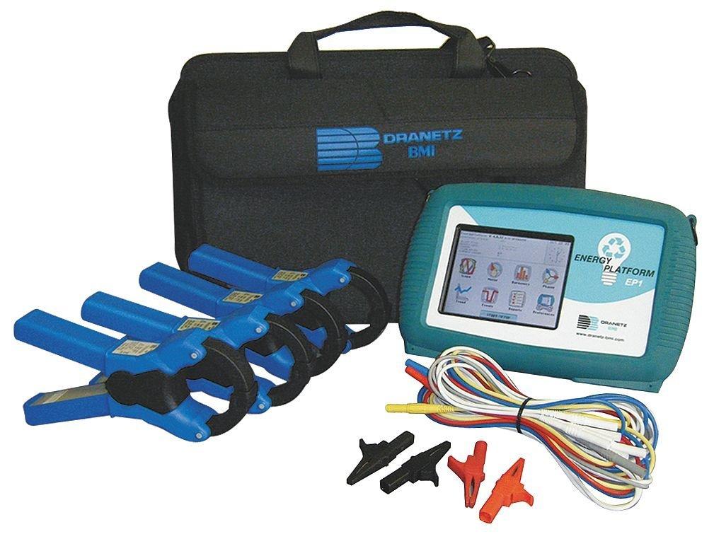 Dranetz DBEP500-4 Energy Platform EP1 Power Analyzers/Datalogger with 4x 10-500A CT's
