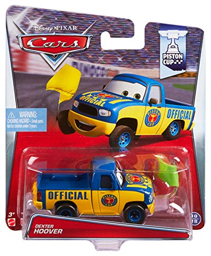 Disney/Pixar Cars Dexter Hoover with Yellow Flag Diecast Veh