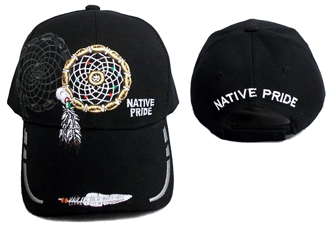 Native Pride Baseball Caps Hats Dream Catcher   Feather Embroidered  (CapNp555 Z) at Amazon Men s Clothing store  8bc1b557973